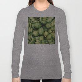 Mystérios Verdes Long Sleeve T-shirt