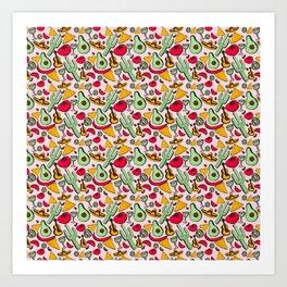 Fiesta Pattern Art Print