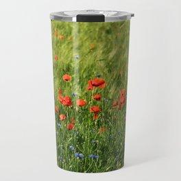 Field of Poppies Travel Mug