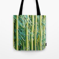 bamboo Tote Bags featuring Bamboo by Laura Ruth