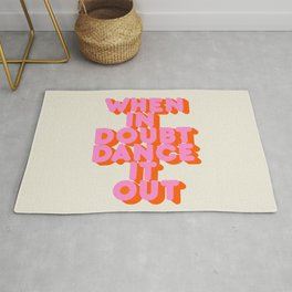 Dance it out Rug