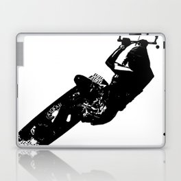 Time To Be Board Silhouette Laptop & iPad Skin