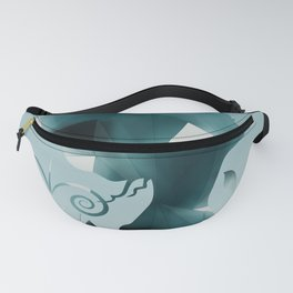 Geometric confusion Fanny Pack