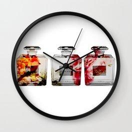Fractice Bottle No. 5 Wall Clock