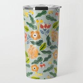 Happiest Flowers Travel Mug
