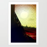The Skytrain Art Print