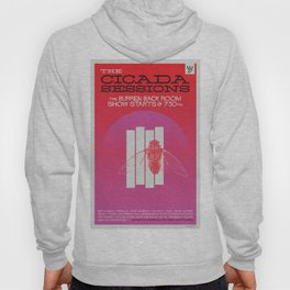 The Cicada Sessions Concert Poster Hoody