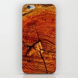 Wood Rings iPhone Skin