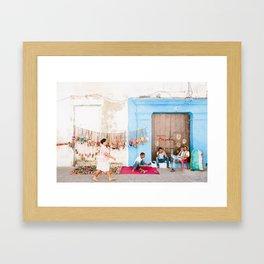 COLOMBIA 6 Framed Art Print