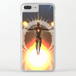 Universe Spectrum (The Incorporeal Essence Act.1) Clear iPhone Case