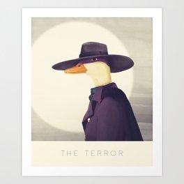Justice Ducks - The Terror Art Print