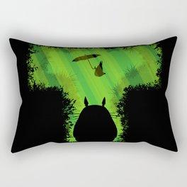 T for Totoro Rectangular Pillow