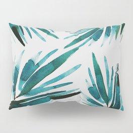 Dark Palm trees Pillow Sham