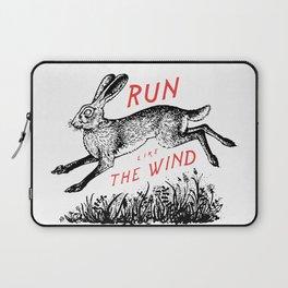 Run Like The Wind Laptop Sleeve