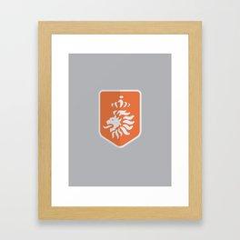 WORLDCUP IS COMING! - NETHERLANDS Framed Art Print