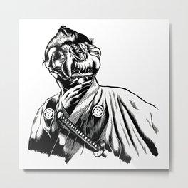 Yojimbo Monster Metal Print