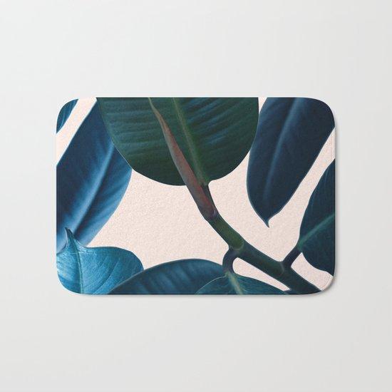 Ficus elastica 2 Bath Mat