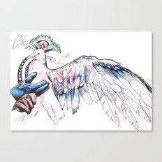 Like soaring through the heavens  Canvas Print