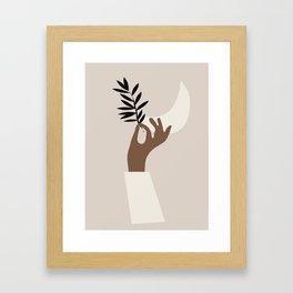Hand 3 Framed Art Print