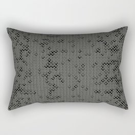 Chain Mail Texture Rectangular Pillow
