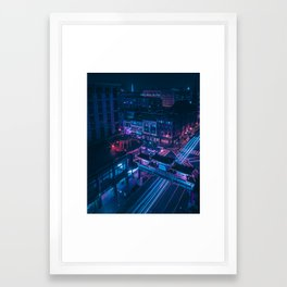 DC Chinatown Framed Art Print