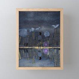 童話與現實的邊緣 Living between Fairy Tale and Reality Framed Mini Art Print
