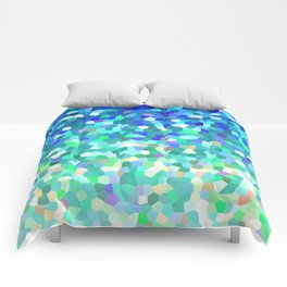 Mosaic Sparkley Texture G149 Comforters