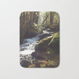 Mossy river Bath Mat