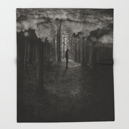 transient thoughts Throw Blanket
