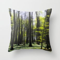 Ruegen-Forest Throw Pillow