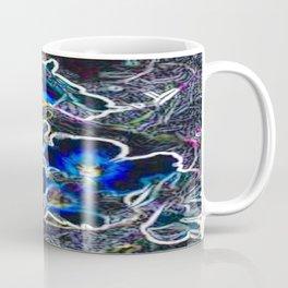 Neon Violets Coffee Mug