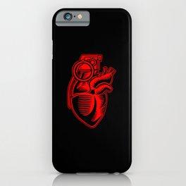 Grenade Heart iPhone Case