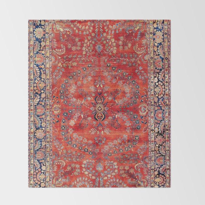 Sarouk Arak West Persian Carpet Print Decke