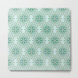 Ice flower 1d Metal Print