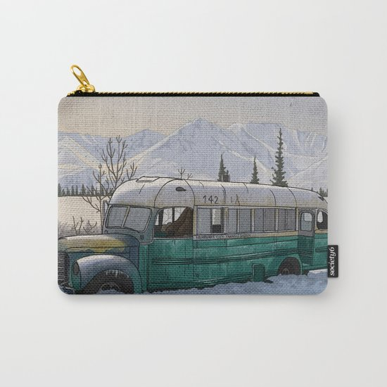 Into the Wild Fairbanks Bus Carry-All Pouch