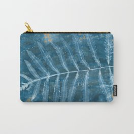 Blue Fern Carry-All Pouch