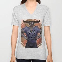 """""""Douchebag t-shirt"""" Iron Bull Unisex V-Neck"""
