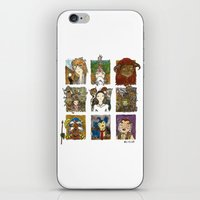 labyrinth iPhone & iPod Skins featuring Labyrinth by Steven Learmonth
