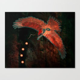 They Speak of What Comes Canvas Print