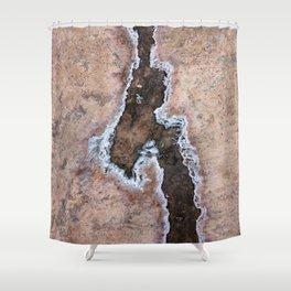 Earth Art Salt of the Earth Shower Curtain