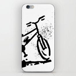 Rest bike iPhone Skin