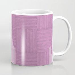Violet Purple Faux Bois Wood Pattern Coffee Mug