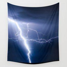 Lightning Strike Wall Tapestry