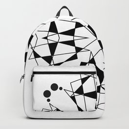 ABSTRACT GEOMETRIC MANDALA Backpack