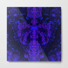 Darkstar Kin Purple Metal Print