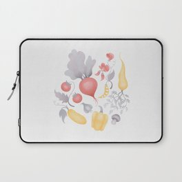 Vegetables (pastel) Laptop Sleeve