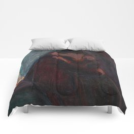 The Kiss - Edvard Munch Comforters