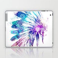 mandala colorful headdress Laptop & iPad Skin