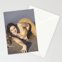Mermaid Came Ashore Stationery Cards
