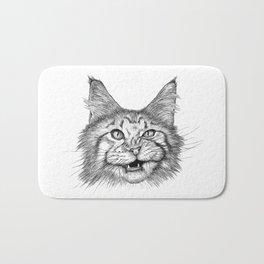 Naughty Cat Bath Mat